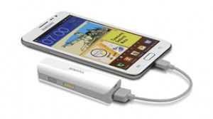Universal External Battery for Mobile Devices like iPod, iPhone and others