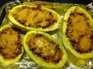 Easy healthy Mexican Spaghetti Squash recipe