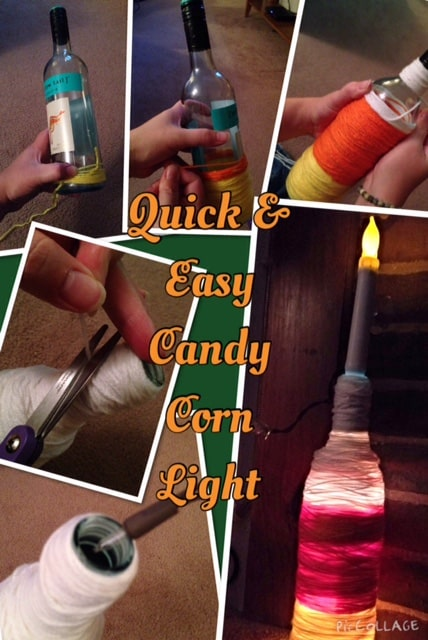 Quick and Easy Candy Corn Light
