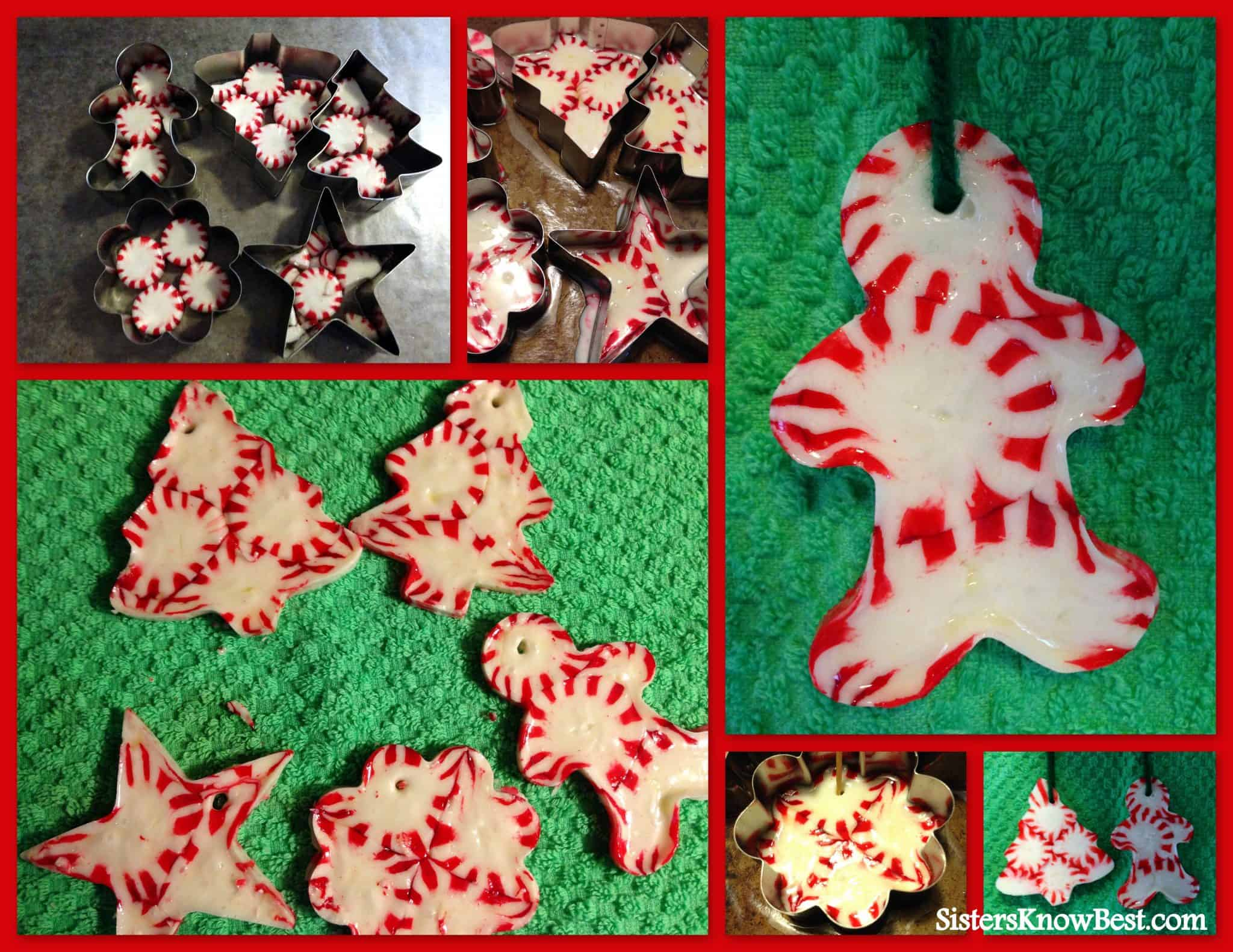 how to peppermint candy ornament - Peppermint Candy Christmas Ornaments