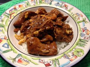 Thai Cashew Chicken Crockpot Recipe