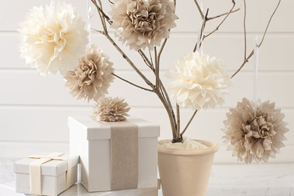Easy Diy Paper Tissue Flower Decorations Sisters Know Best
