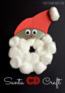 DIY Santa Craft for Kids at Christmas