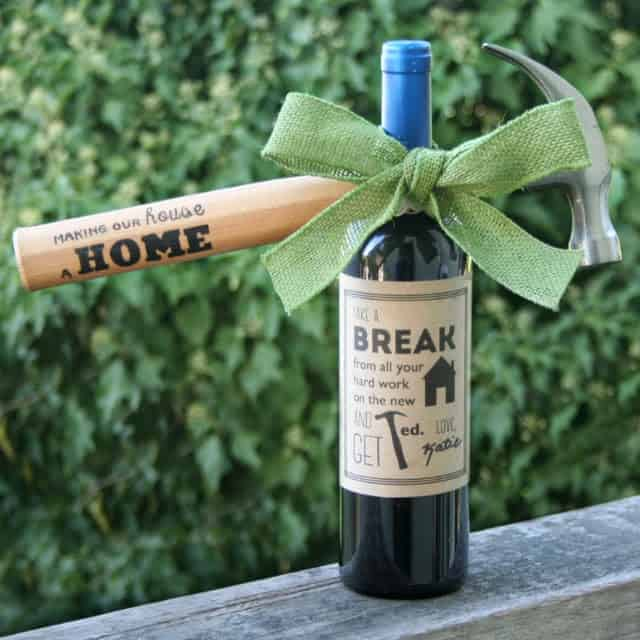 Diy printing on woods fabric gift ideas sisters know best for Best wine gift ideas