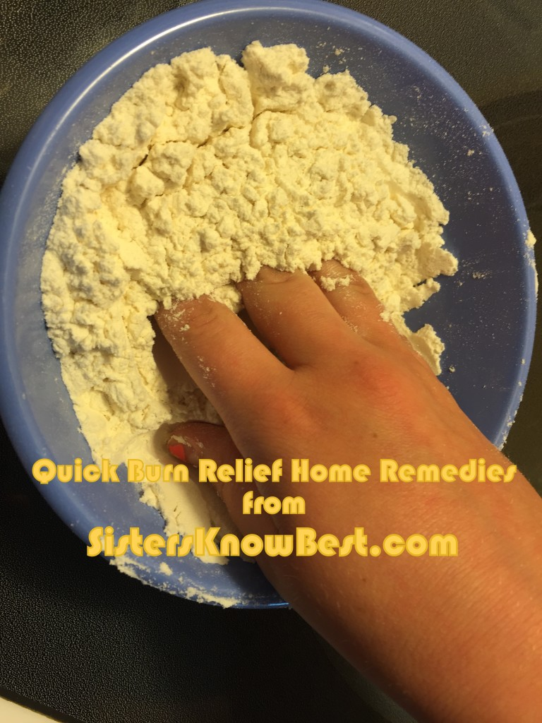 Home remedies for oil burn