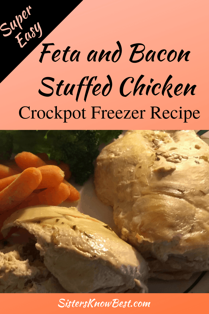 Feta and Bacon Stuffed Chicken Slow Cooker Recipe