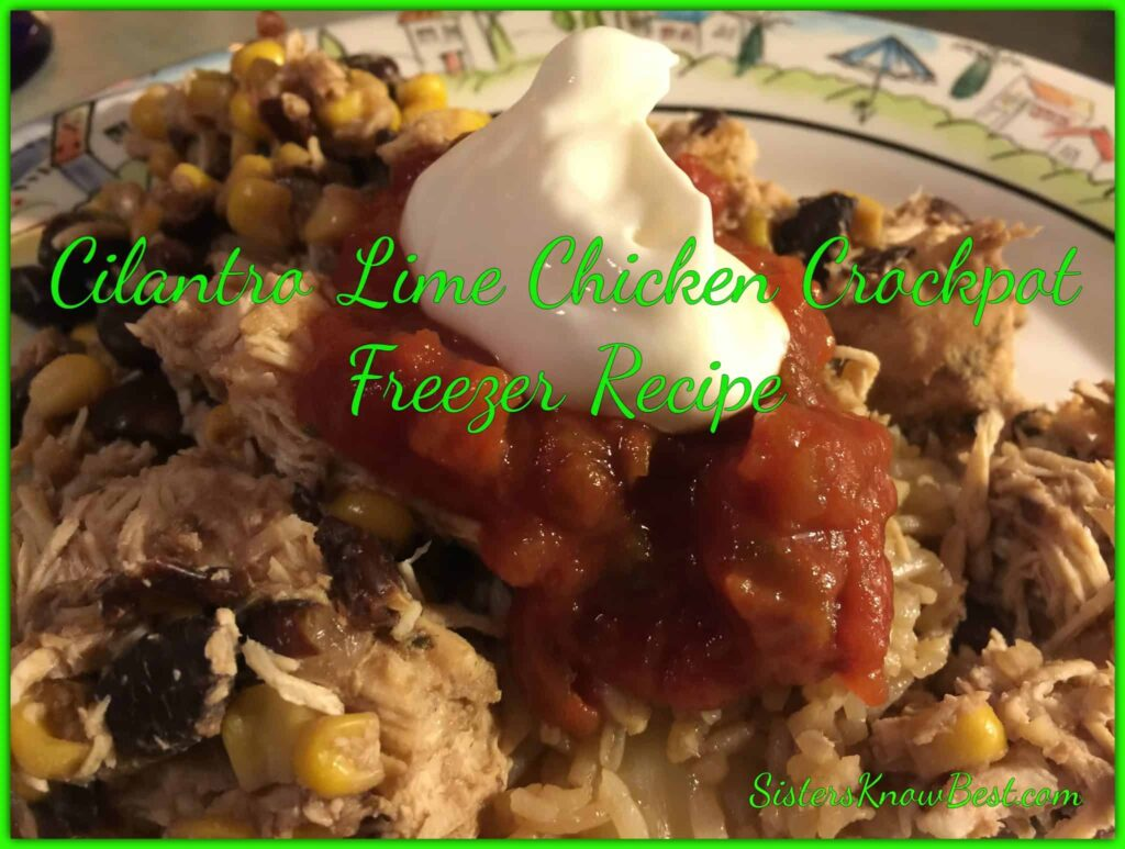 Cilantro Lime Crockpot Chicken