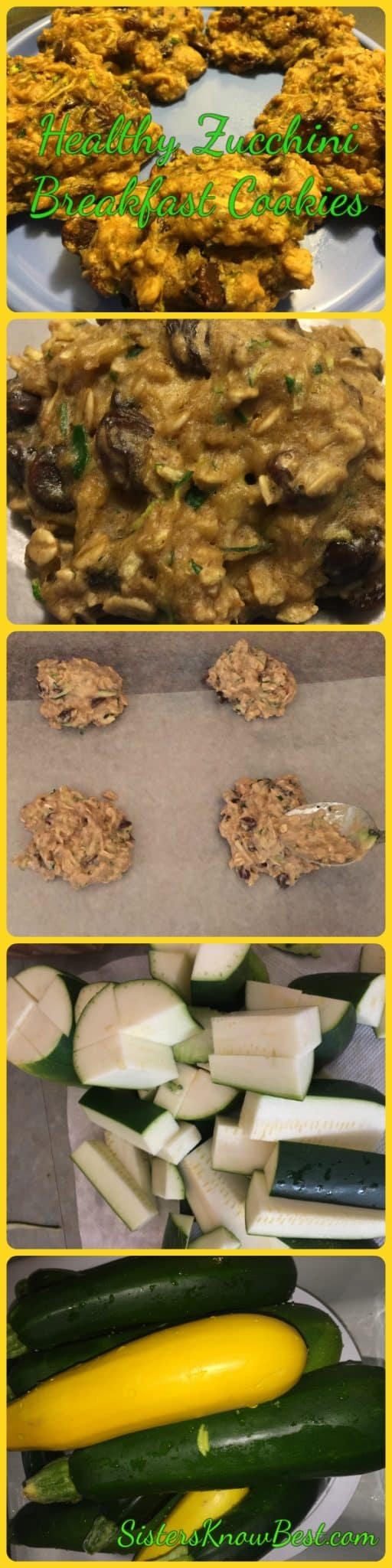 Healthy Zucchini Cookie Recipe from Sisters Know Best