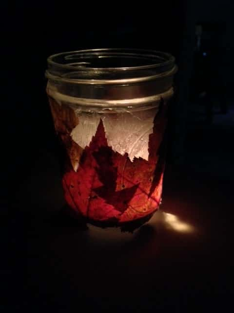 Foliage Candle Holder