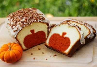 Pumpkin Peekaboo Thanksgiving Bread