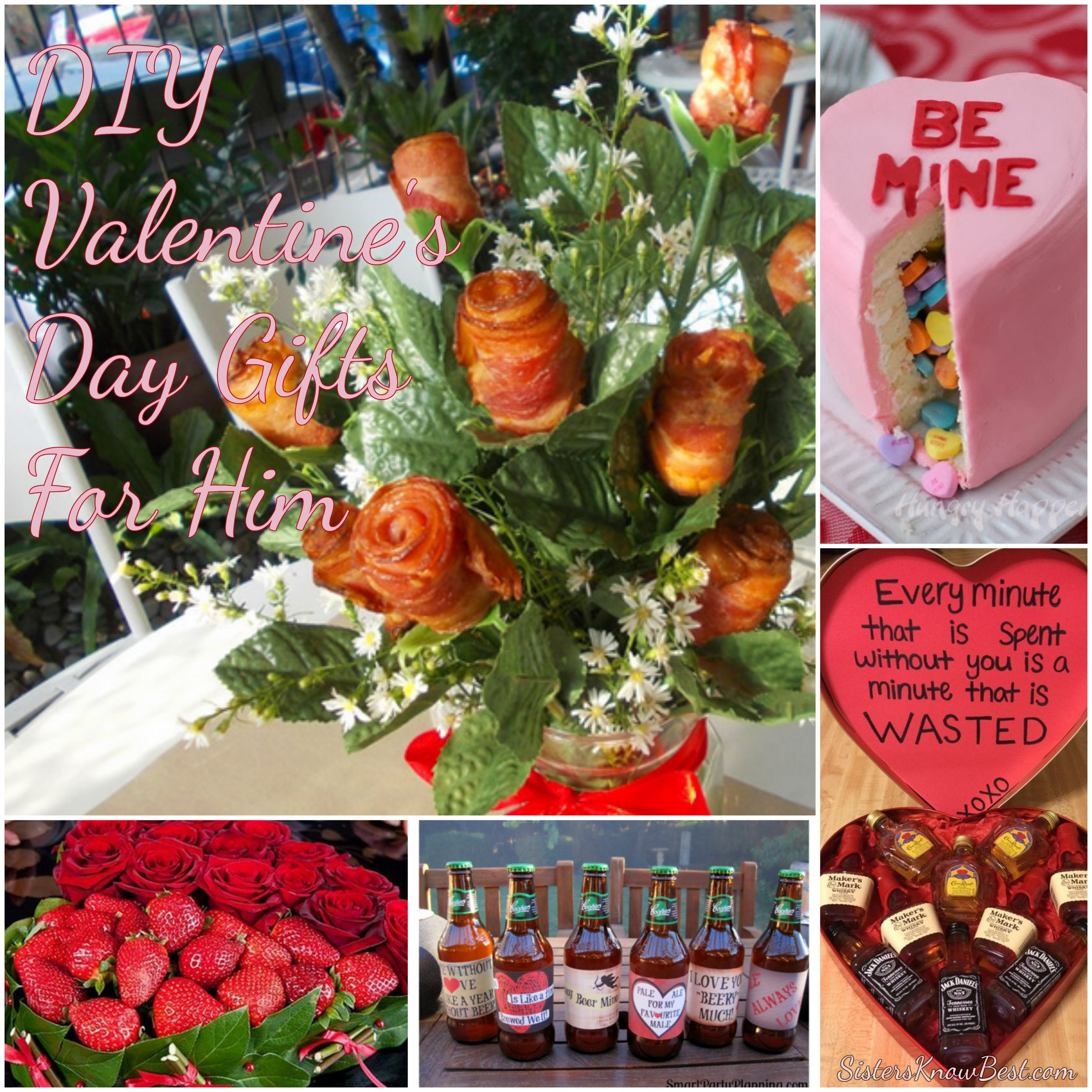 Top 5 DIY Valentine's Day Gifts for Men - Sisters Know Best