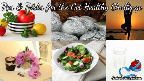 Tips and Tricks to Get Healthy Challenge