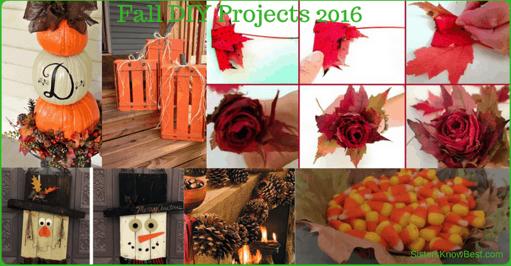 Fall DIY Projects 2016