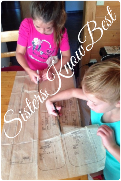 Sisters Know Best Sewing for children