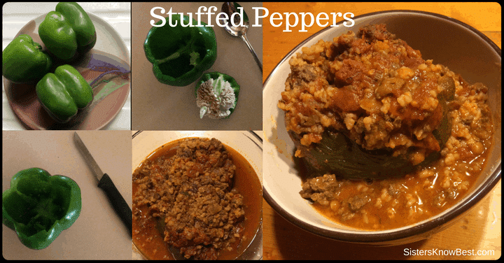 Stuffed Peppers with Lentils recipe