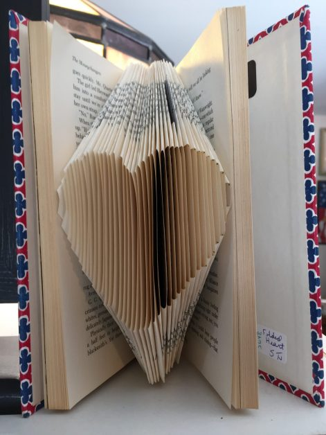 Folded Pages for Recycled Book Crafts