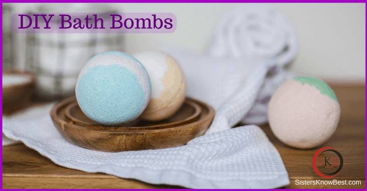 DIY Bath Bomb by Sisters Know Best