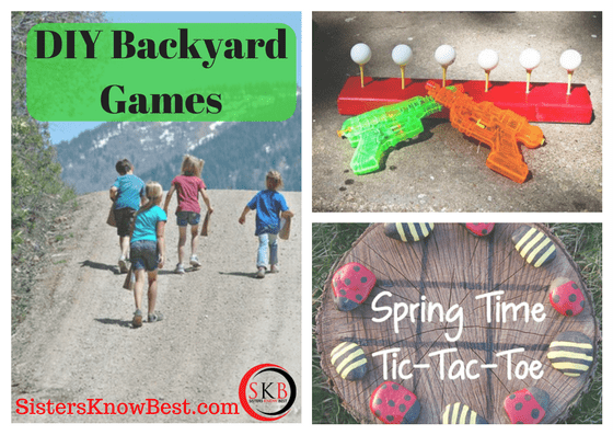 DIY Backyard Games by SKBrecipes.com
