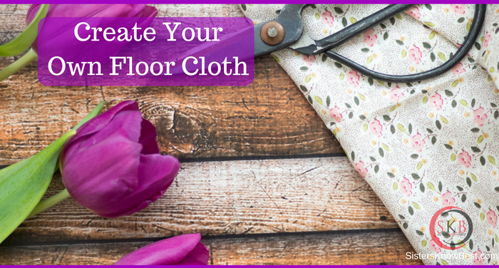 Create Your Own Floor Cloth