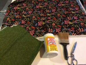 Fabric Floor Cloth Supplies