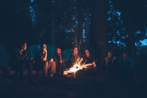 easy campfire food that's healthy and fun