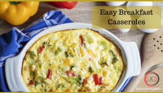 Save time making breakfast with easy breakfast casseroles