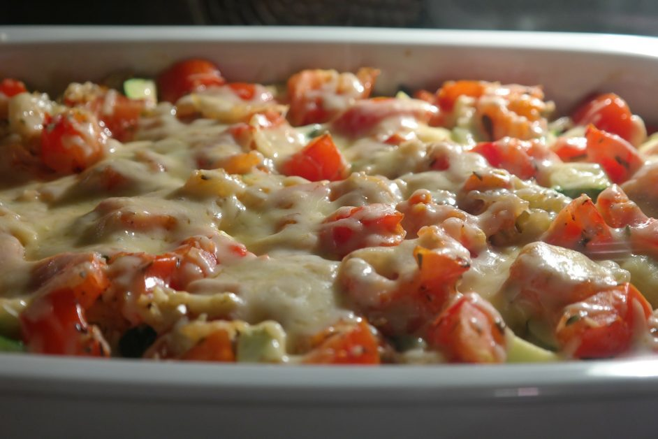 Vegetarian Lasagna made with cauliflower