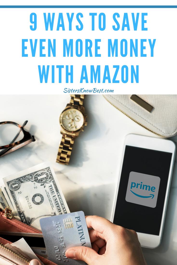 save time and money with amazon