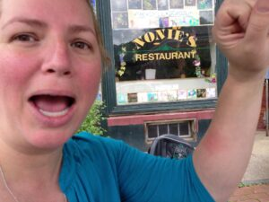 Bee Sting in Peterborough, NH at Nonie's Restaurant