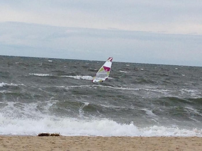 Windsurfer at First Encounter Beach