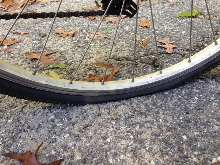 Flat Tire Bicycle