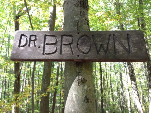 Dr Brown sign