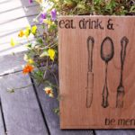 DIY Kitchen Sign
