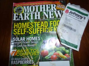 Mother Earth News and Johnny Seeds