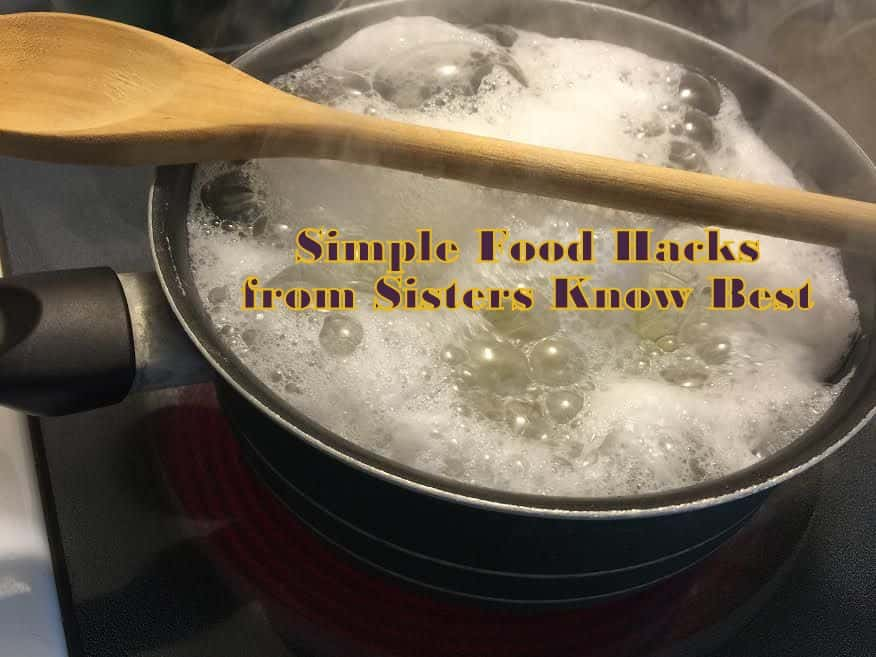 Wooden spoon food hack