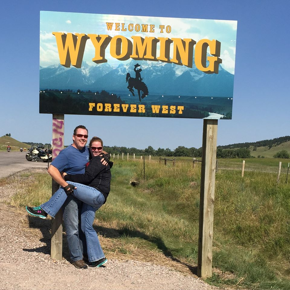 Wayward Wanderers entering Wyoming