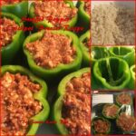 Stuffed Pepper Crockpot Freezer meal
