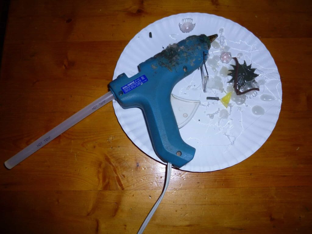 Buy your hot glue gun at Jo-Anns!