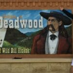 Bill and Chris entering Deadwood