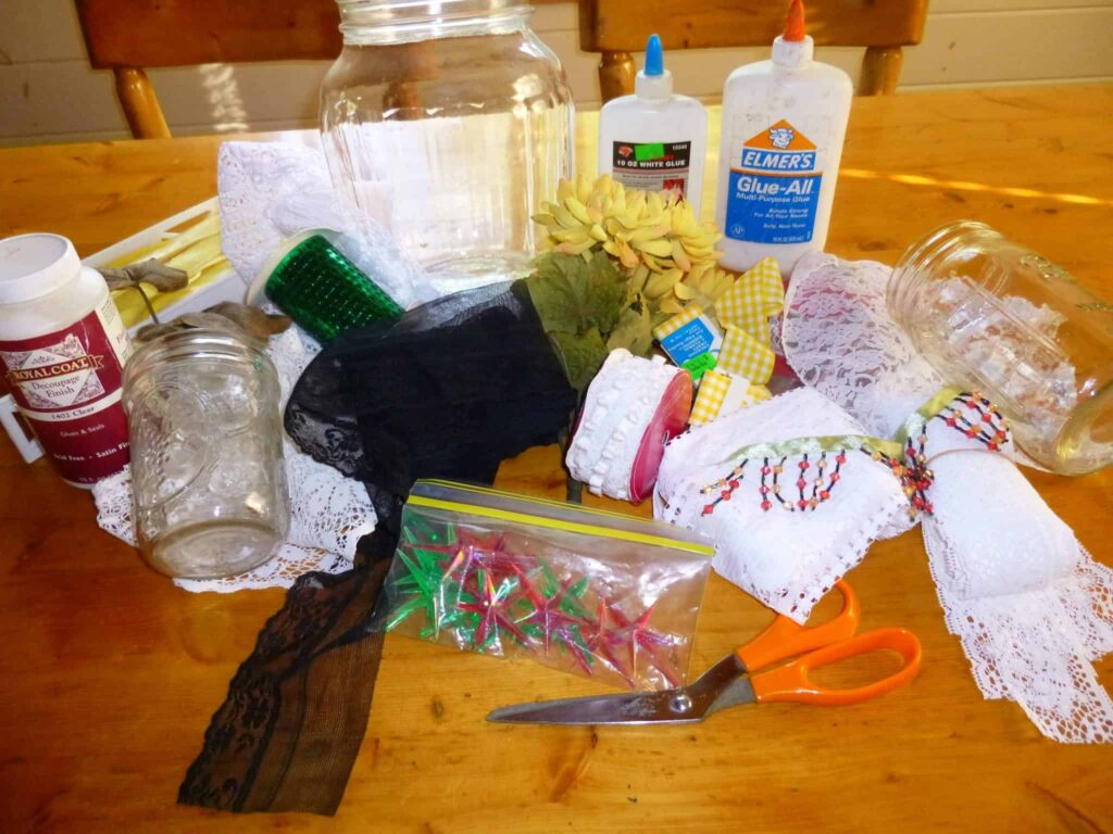 Supplies - don't let what you see here limit you!!