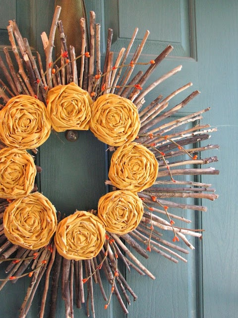 DIY Fall Wreath Project