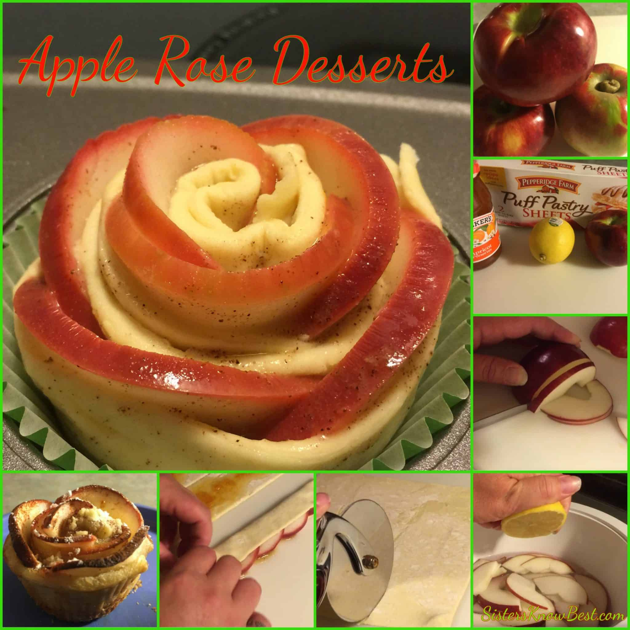 Apple Rose Desserts