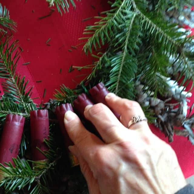 wreath pressing shells