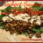 Crockpot Sausage and Bean Supper