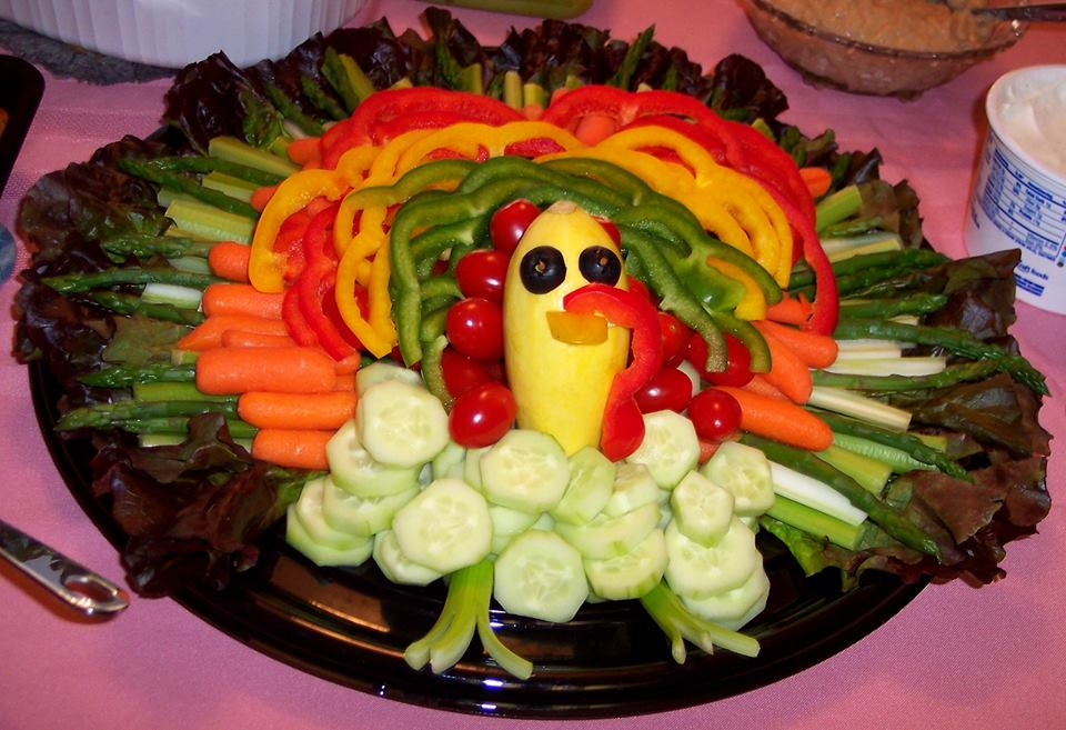 Turkey Vegetable Platter