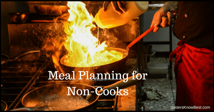 Meal Planning for Non Cooks
