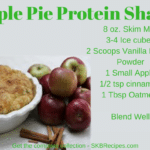 Apple Pie Protein Shake recipe