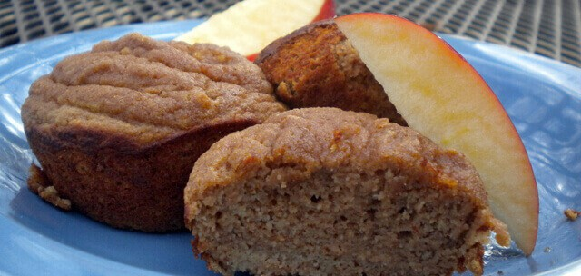 Coconut Apple Cinnamon Muffins