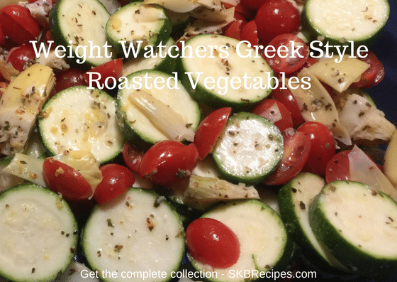 Weight Watchers Greek Style Roasted Vegetables recipe