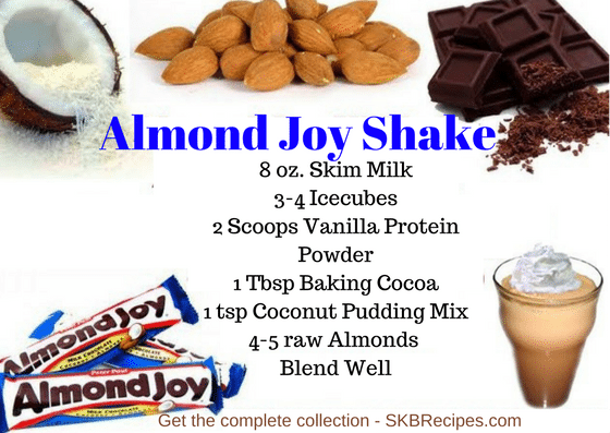 Almond Joy Shake Recipe
